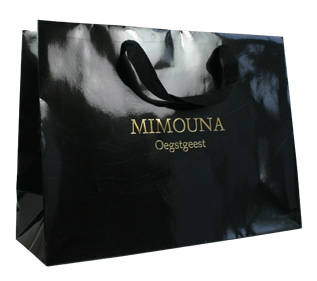 luxury paper bags with embossing logo
