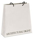 trapezoid paper bags with custom logo