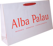 luxury paper bags with logo printing
